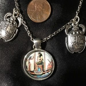 """Egyptian Ruler Necklace 19"""""""
